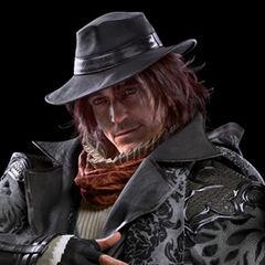 A portrait of Ardyn from the Japanese <i>Kingsglaive: Final Fantasy XV</i> website.