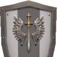 Temple Knight Army Shield.