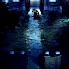 Zack and Cloud escapes in <i>Before Crisis</i>.