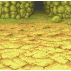 Giant's Cave battle background in <i><a href=