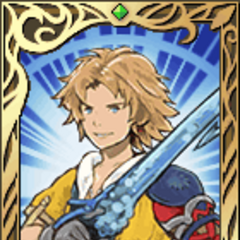 One of Tidus's portraits.