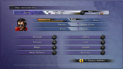 FFX Status Menu PS3