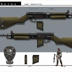 Rifle artwork.
