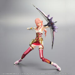 Serah's <i>Final Fantasy XIII-2</i> Play Arts KAI figure.