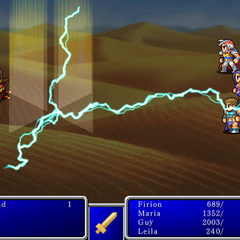 Thunder VI in <i>Final Fantasy II</i> (iPod).