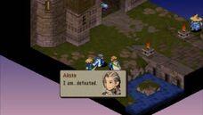 FFT Aliste's Defeat