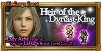 FFRK Heir of the Dynast-King Event