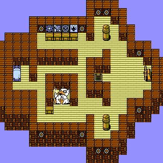 The interior of the <i>Invincible</i> (NES).