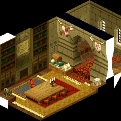 Lesalia's office, as shown in cutscenes.