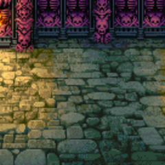 Castle Exdeath battle background (GBA).