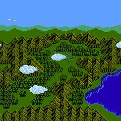 Ur in the ending (NES).