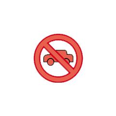 Blockade icon.