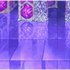 Castle Pandemonium's lower floors' battle background (GBA).