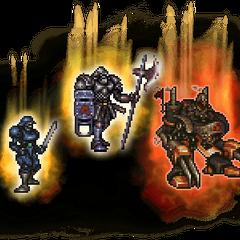Ultimate Empire Soldiers (Sergeant, Mega Armor, & Guard).