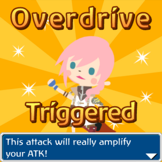 Lightning Overdrive triggered.