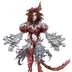 Concept art of Trance Kuja.