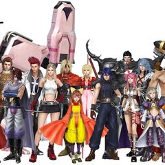 <i>Final Fantasy</i> collaboration costumes.