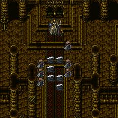 Odin using Zantetsuken in the Ancient Castle in <i><a href=