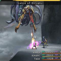 Lance of Atrophy.
