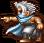 Эдж применяет Бросок в версии для PSP.