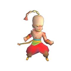 In-game render of Yang (DS).