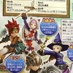 Playable characters.