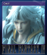 FFIV Steam Card Cecil