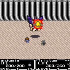 Bomb's graphic used during battle.