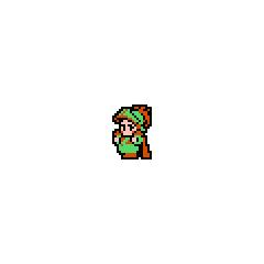 Зеленый Луковый Рыцарь из NES-версии.