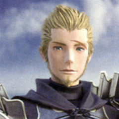 Basch in an FMV from <i>Final Fantasy XII: Revenant Wings</i>.