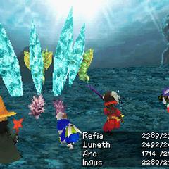 Water: Ice Pillar (DS).