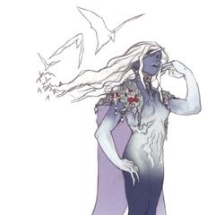Akira Oguro artwork of the Maenad.