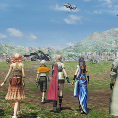The party in Archylte Steppe.
