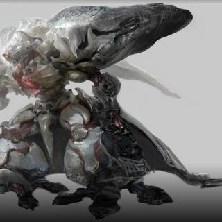 Concept art of Diamond Weapon.