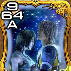 Yuna and Tidus.