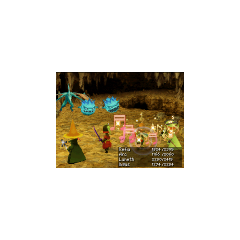 Sing in the DS version of <i>Final Fantasy III</i>.