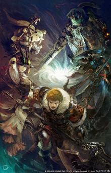 FFXIV Warriors of Darkness