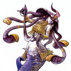 Promotional artwork by Yuzuki Ikeda (<i>Final Fantasy XI</i>).
