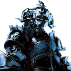 CG render of Gabranth from <i>Dissidia 012</i>.