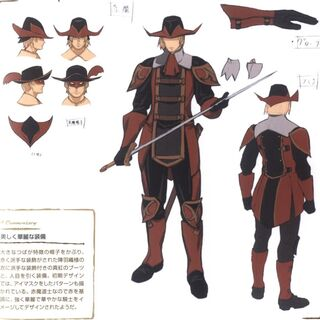 Red Mage concept art.
