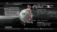 XIII-2 Equipment Menu