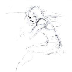 Zidane Tribal Sketch.