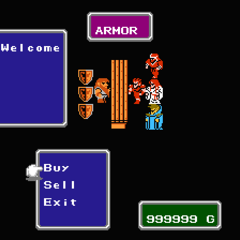 Armor shop keeper.
