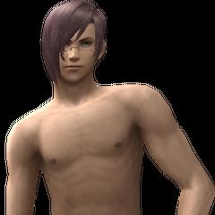 Swimsuit model.