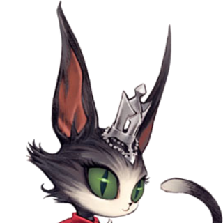 Artwork of Cait Sith.