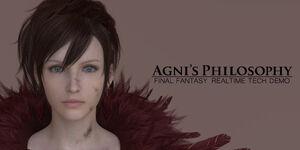 Agni's philosophy banner