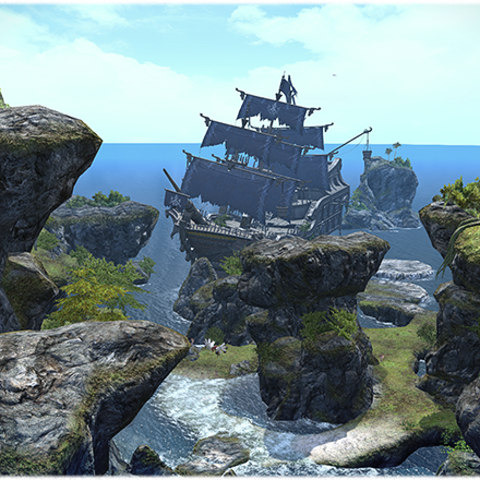 The Hullbreaker Isle overview.