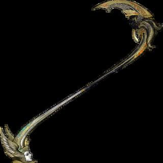 Lindzei represents the angelic half of Bhunivelze's scythe.