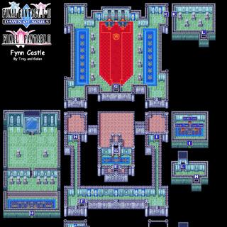 Castle Fynn's Map (GBA).