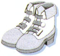 FFVI Miracle Shoes Artwork